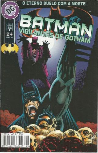 Imagem 1 de 1 de Batman Vigilantes De Gotham 24