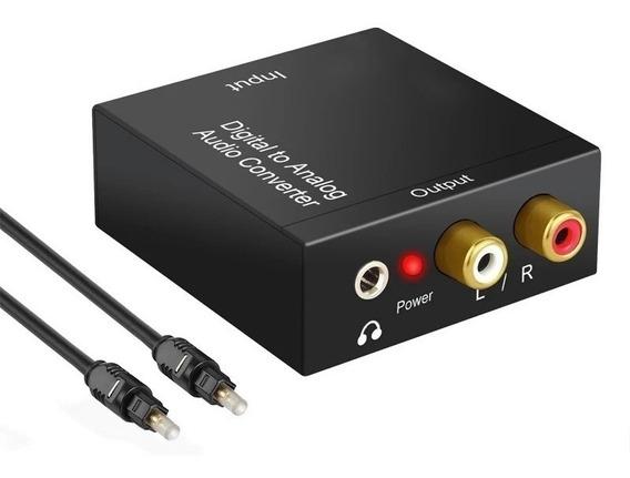O Melhor Conversor Áudio Óptico Para Rca P2 Com Volume Alto