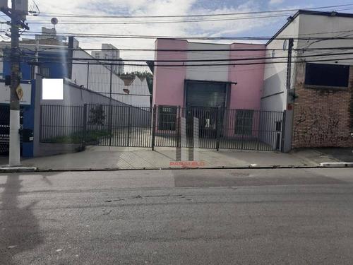 Imagem 1 de 18 de Galpão Para Alugar, 365 M² Por R$ 13.000/mês - Tatuapé - São Paulo/sp - Ga0435
