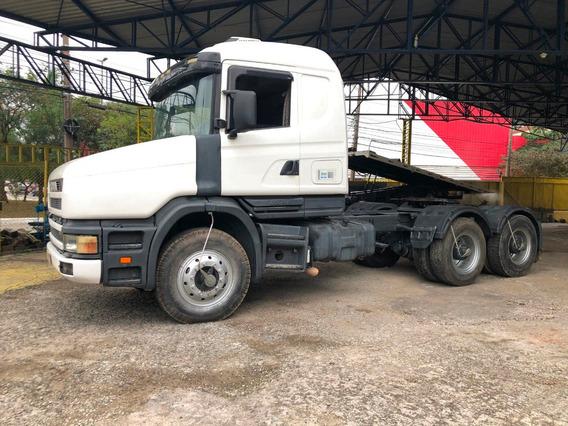 Scania T124 360 6x4 Ano 02/03 Km 624.101