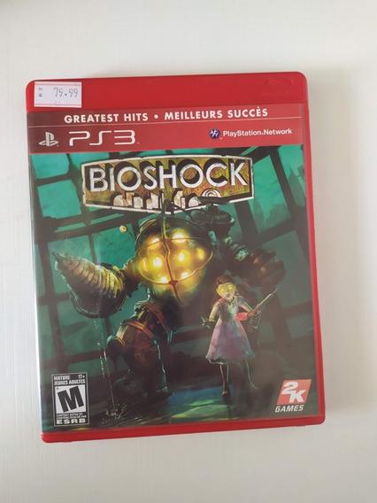 Jogo Ps3 Bioshock Greatest Hits - Meilleurs Succès Mídia Física Original Playstation 3