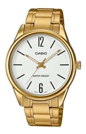 Relógio Casio Collection Unissex Analógico Mtp-v005g 7budf