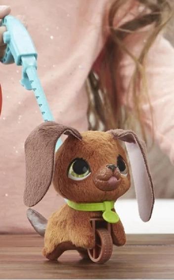 Cachorro Real Walk Lots Pelúcia Hasbro Presente Aniversário