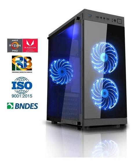 Computador Compusonic Gamer Ryzen 5 2400g 8gb Ddr4 Ssd 240gb