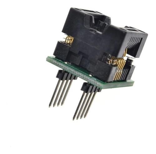 Adaptador Soic8 A Dip8 (150 Mm)