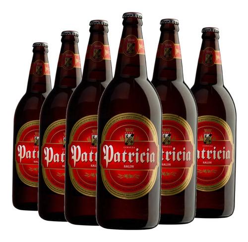 Imagem 1 de 5 de 6x Cerveja Uruguaia Patricia 960ml