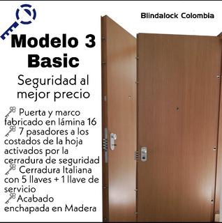 Puertas De Seguridad Y Blindadas Bogota
