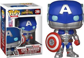 Funko Pop Original!! Deadpool - Dr Strange - Civil Warrior