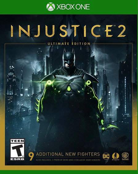 Injustice 2 Ultimate Edition - Xbox One - Steel Book!!!