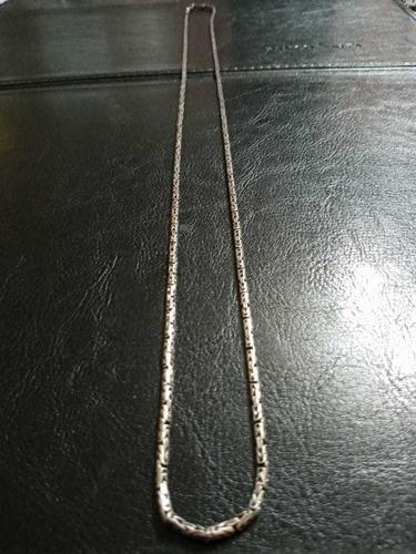 Imagem 1 de 4 de Corrente Prata 925 80 Cm Masculino Peso 22 Gramas