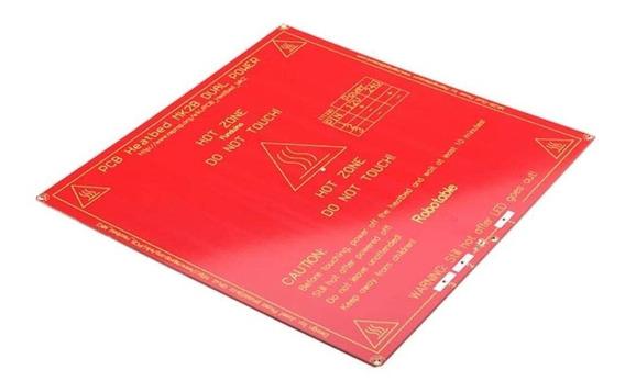 Mesa Aquecida Pcb Mk2b Dual Power - Impressora 3d - Reprap