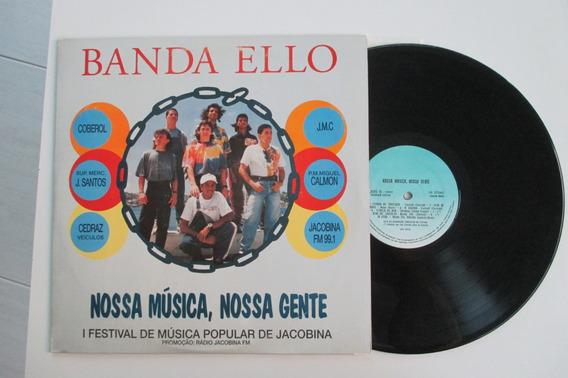 Lp Banda Ello 1993 Capa E Vinil Único No Ml Disco Excelente.