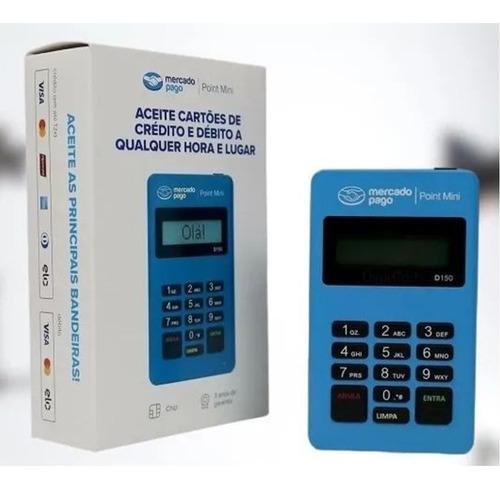 Imagem 1 de 7 de Máquina De Cartão Débito E Crédito Mercado Pago Point Mini