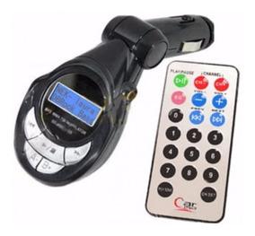 Reproductor Mp3 Mp4 Transmisor Fm Radio De Carro Con Control