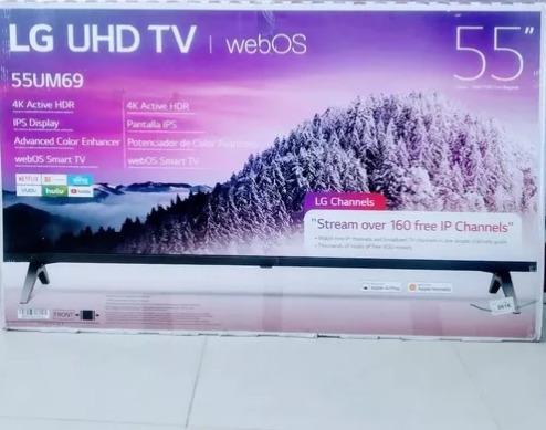 Televisor Lg De 55 P, Smart Tv/2019/4k/wifi. Somos Tienienda