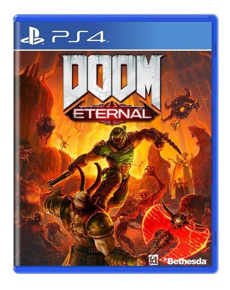 Doom Eternal - Ps4 - Mídia Física