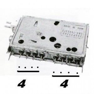 Varicap Env 76453f2 Mitsubishi,semp Toshiba,philco