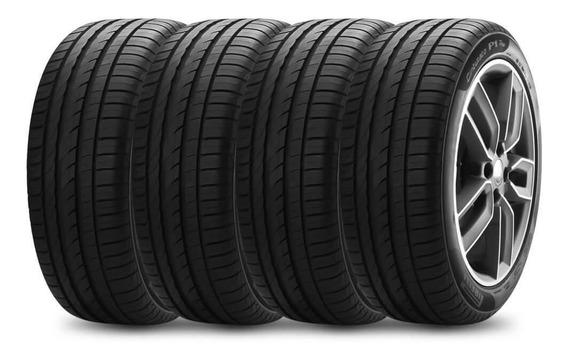 Kit 4 Pneu Pirelli Aro 15 195/55r15 85v Cinturato P1 Plus