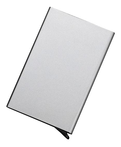 Porta Cartões De Crédito Em Alumínio Rfid E Nfc Blocking