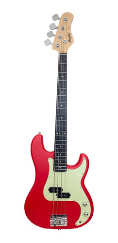 Imagem 1 de 5 de Contrabaixo Memphis P.bass 4 Cordas Mb-40 Frs Fiesta Red