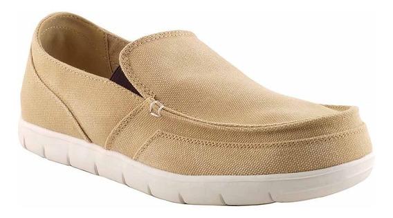 Zapato Alpargata Tela Hombre Briganti Mocasin - Hcal00717