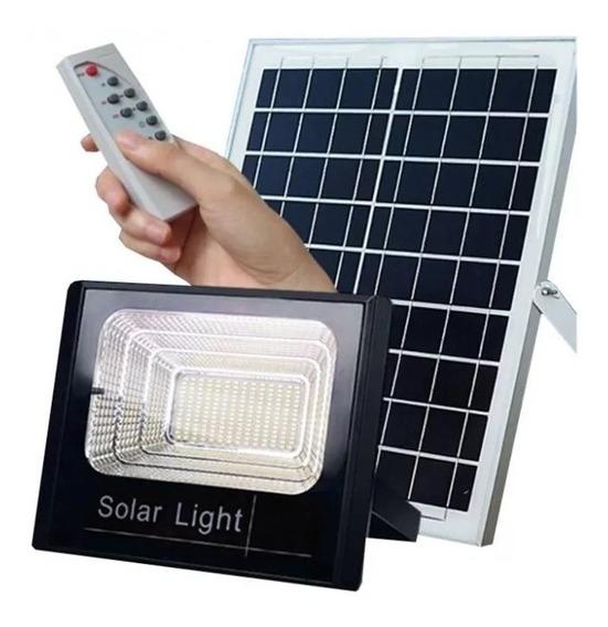 Refletor Led Placa Painel Solar 70w Com Placa A Prova D