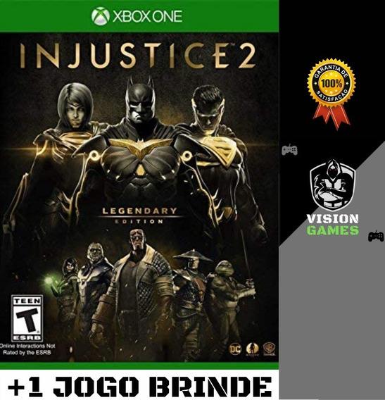 Injustice 2 Edição Lendária + Todas Dlcs - Xbox One Digital