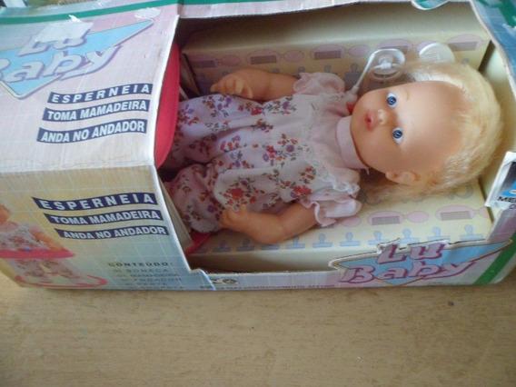 Boneca Lu Baby Meplastic Antiguidade