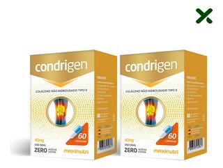 02 Condrigen Colágeno Tipo 2 Com 60 Cápsulas Loja Maxinutri