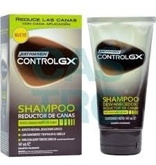 4pz Shampoo Just For Men Control Gx Canas Rejuvenec Original