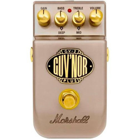 Pedal Distortion / Overdrive - Guvnor Plus Gv2 - Marshall