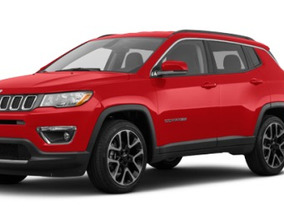 Jeep Compass 2.4 Limited 180hp At Xenon Led 4x2 Abs R18 Rhc