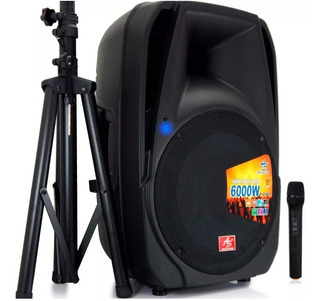 Cabina De Sonido Activa American Sound Bluetooth Recargable