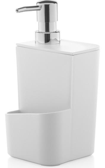 Dispenser Para Detergente Esponja 650ml Sabão Líquido Pia