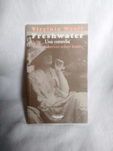 Imagen 1 de 4 de Freshwater Virginia Woolf Cuenco De Plata Extraterritorial