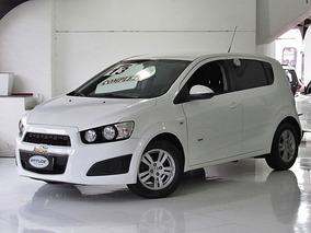 Chevrolet Sonic 1.6 16v Lt 5p 2013 Branco Completo