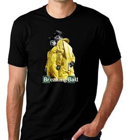 Camiseta Preta Breaking Bad Série Heisenberg White Break 2