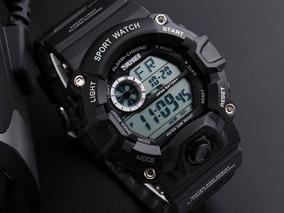 Relógio Militar Skmei 1019 Resistente À Água 50m - Preto
