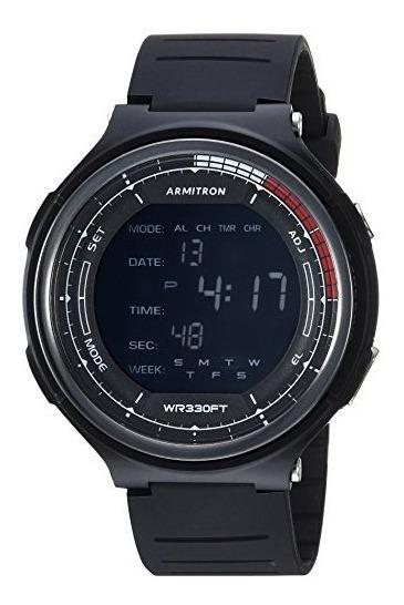 Reloj Armitron Sport Deportivo Cronógrafo Digital De Lujo