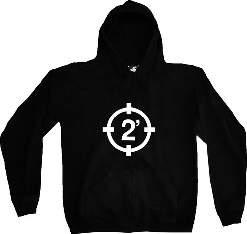 Buzo Hoodie 2 Minutos Punk Rock Metal Estampado Tv Urbanoz