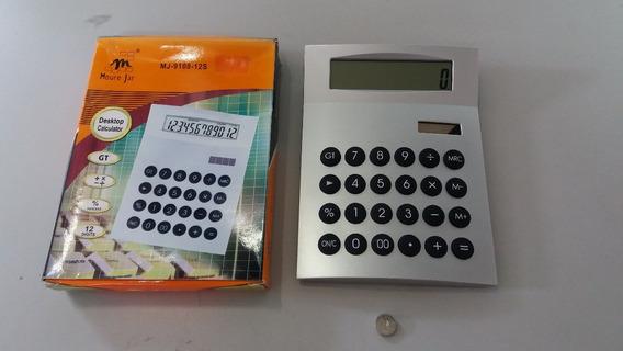 Calculadora Eletronica Solar 12 Digitos Moure Jar