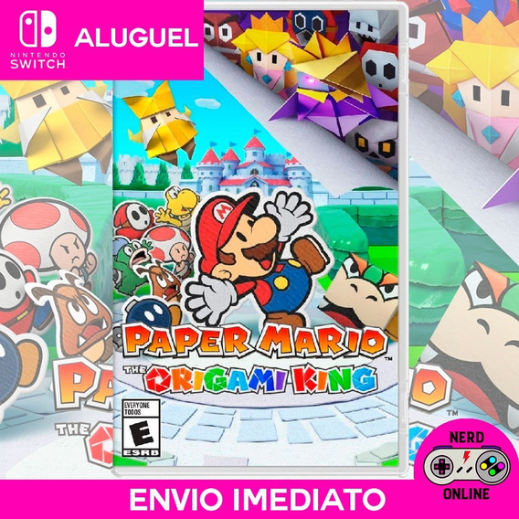 Paper Mario The Origame King - Nintendo Switch (aluguel)