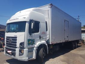 Vw 17250 6x2 Truck Baú 10 Metros Vm 270 240e25 2429 24280