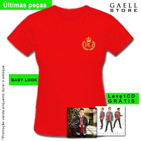 Camisas Gaell Bordadas (babylook) - 100% Algodão + Cd Grátis