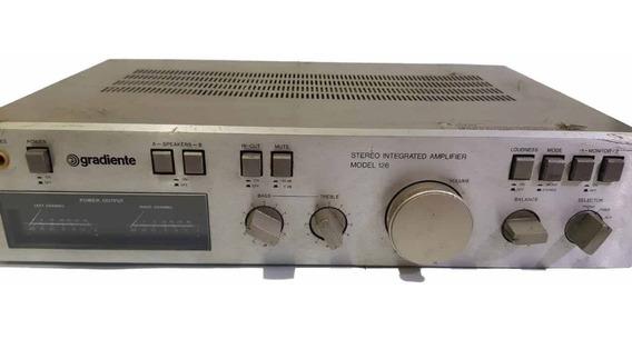 Amplificador Gradiente Modelo 126 Único Dono