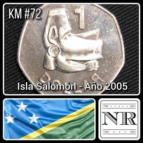 Islas Salomon - 1 Dolar - Año 2005 - Km # 72 - Mascara