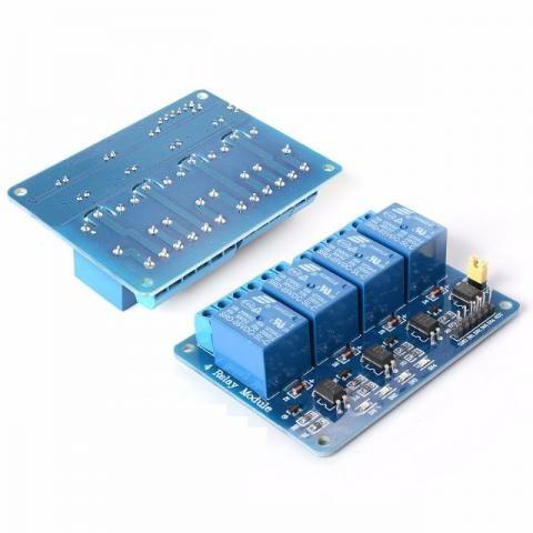 Módulo Rele 4 Canais 5v Para Arduino