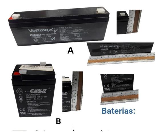 Baterias Pilas 12volt Y 6 Volt Recargables