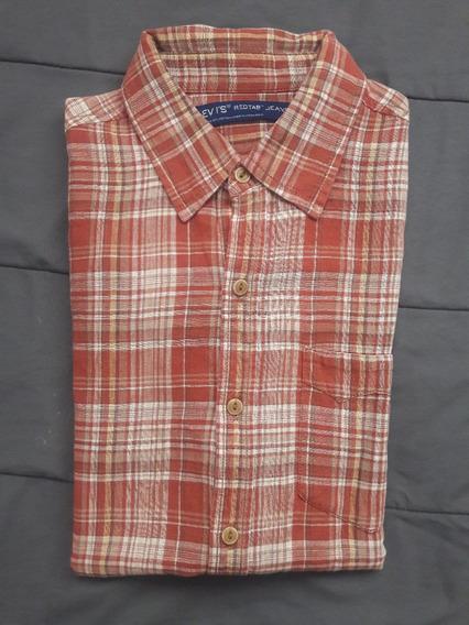 Camisa Casual Para Hombre Manga Corta Levi