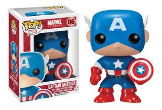 Funko Pop Capitan America #06 Avengers Marvel Jugueterialeon